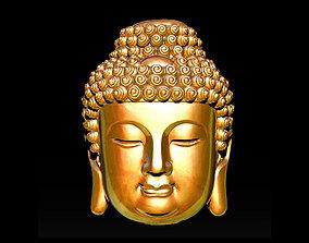 Buddha Face Pendant Ready For 3D Print 3D print