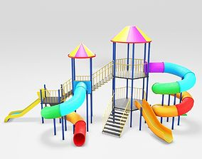 Playground for children 3D