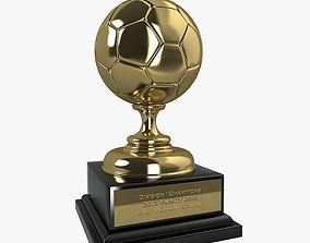 3D Soccer Trophy II