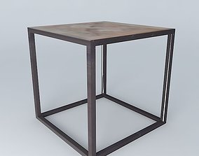 3D Side table LOUISON houses the world