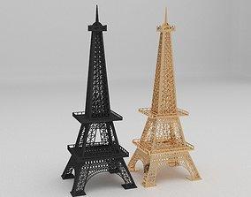 eiffel tower 3d model 3D asset
