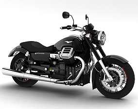 Moto Guzzi 1400 California Custom 2013 3D
