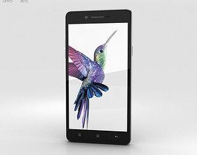 Oppo Neo 7 Black dual 3D model