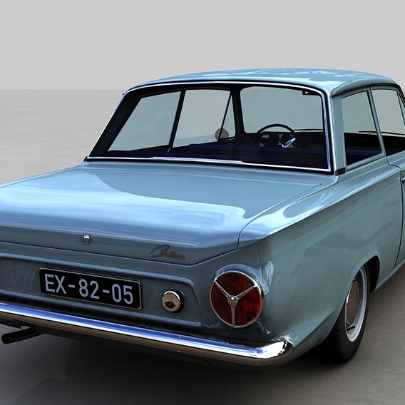 FOR-D CONSUL CORTINA MK1 1962