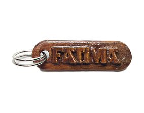 3D print model FATIMA Personalized keychain embossed