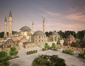 Hagia Sophia Ayasofya Turkey - 3D model game-ready