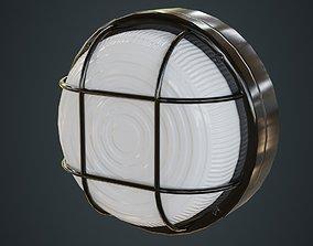 Bulkhead Light 2A 3D asset
