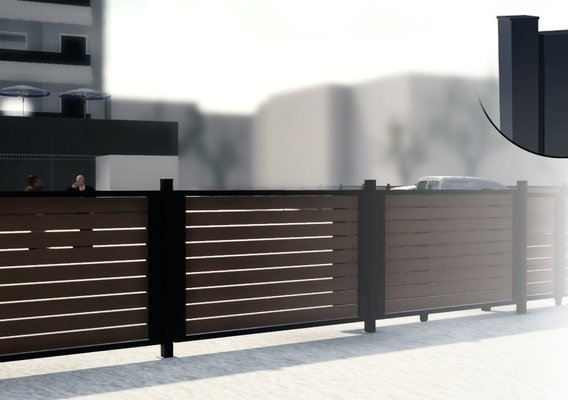 Fence scene and detail