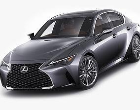 3D model Lexus IS300 2021