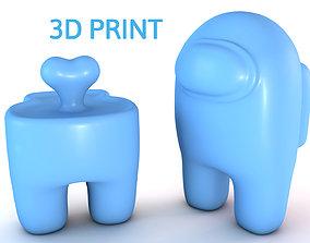 Among Us - 3d printable character models