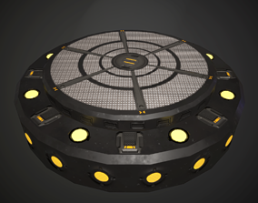 Turntable spot Base with animation 3D asset