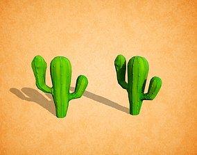 3D model Cactus stylized