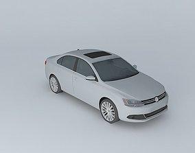 2011 Volkswagen Jetta 3D model