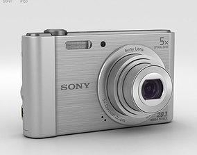 3D model Sony Cyber-Shot DSC-W800 Silver