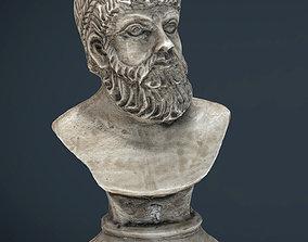 Greek Bust 3D asset