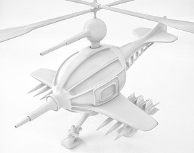 Helicopter Concept Print toys 3D printable model