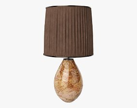 3D model Table lamp with lampshade 01