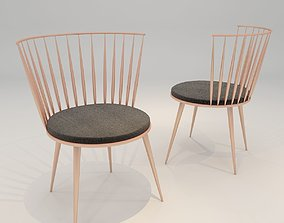 Dining chair 34 3D model