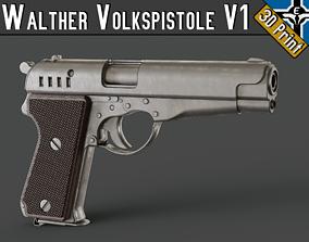 Walther Volkspistole V1 --- 3D printable model