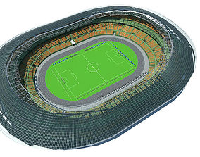 soccer-field Stadium 3D model