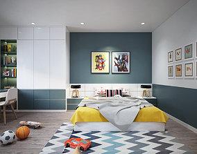3D model Kids Bedroom modern