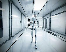 3D model Robot Walking