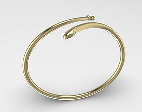 snake bracelet 3D print model