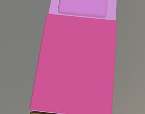 Cartoon Bed 3D model