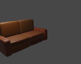 Furniture Sofa 3D model VR / AR ready