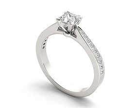 Engagement luxury ring 191 3D