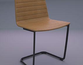 Andreu world flex Cafe Chair 3D asset