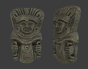 Shaman Tribal Mask 3D asset