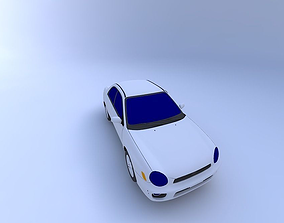2003 Subaru Impreza RS 3D model