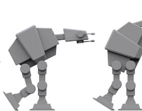 Walker Evolution republic 3D model