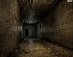 Old Concrete Wall 01 01 D 3D asset