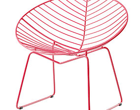 Hyde Outdoor Lounge Chair 3D