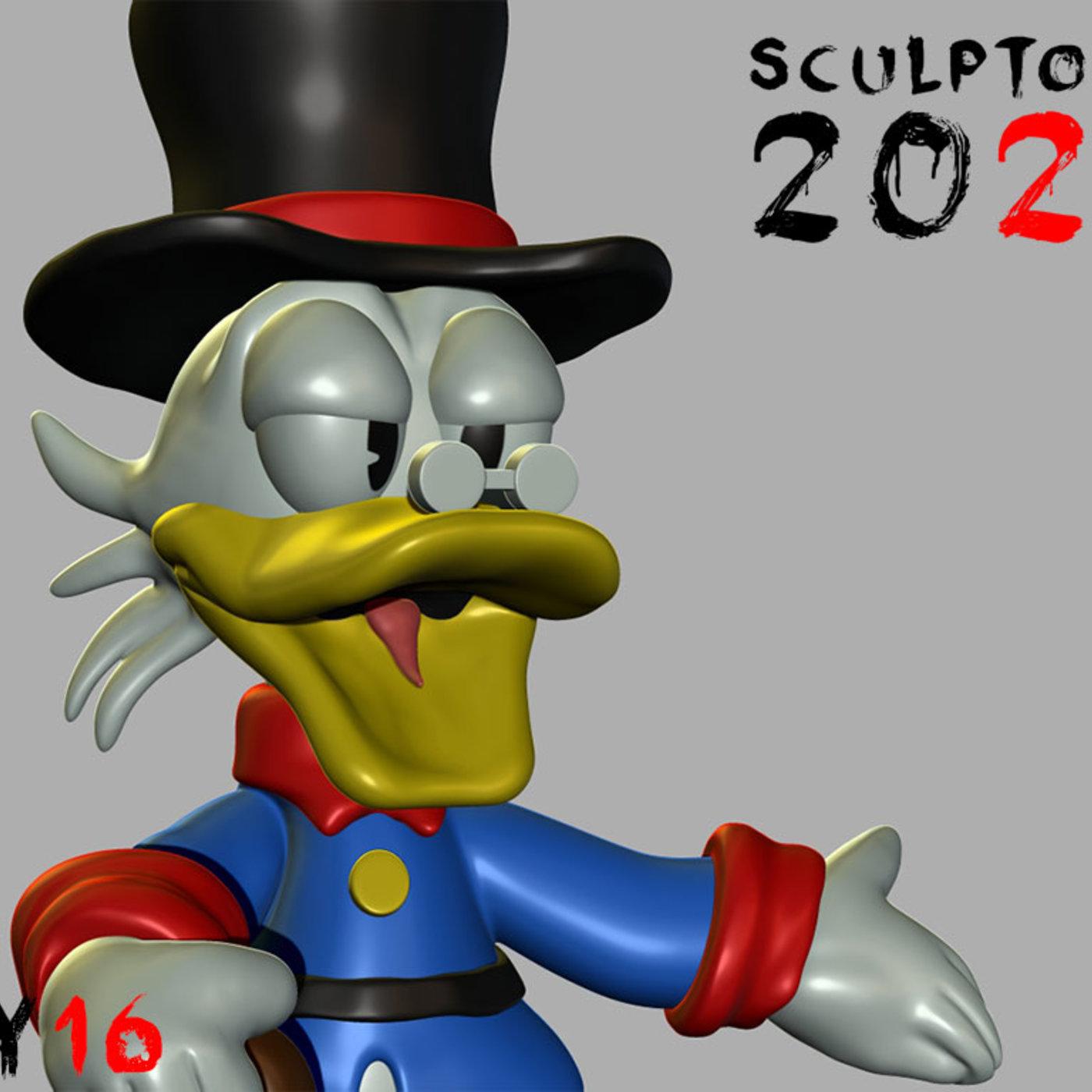 Sculptober Day 16 Greed