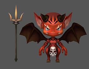 3D asset Little devil