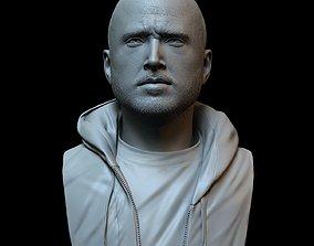 3D printable model Aaron Paul known for Jesse Pinkman 2