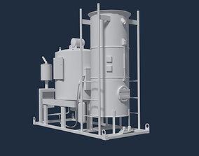 Industrial Boiler 3D model