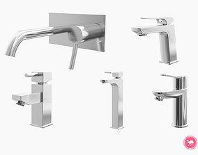 3D model Fixtures - Kitchen Bathroom Faucet Pack A