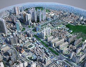 Korean Buildings for Background vol01 3D model