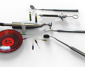 3D Dental Tools set