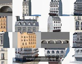 European architecture 3D