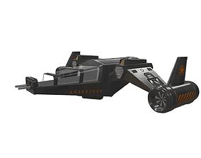 Concept Aircraft 3D asset