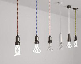 3D model Pendant Light bulbs