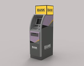 3D model automated teller machine