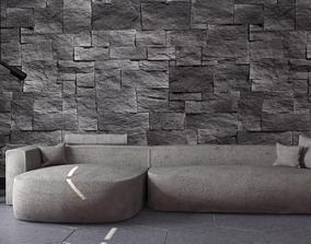 3D model Modern Litos Sofa
