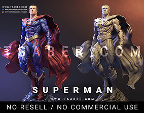 3D print model Superman Statue - collectible sculpture