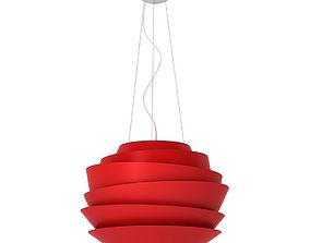 Foscarini Le Soleil suspension lamp 3D model